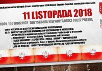 Obchody 100 Rocznicy Odzyskania Niepodległości