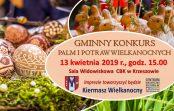 Gminny Konkurs Palm i Potraw Wielkanocnych