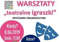 Warsztaty Teatralne w CBK Krzeszów